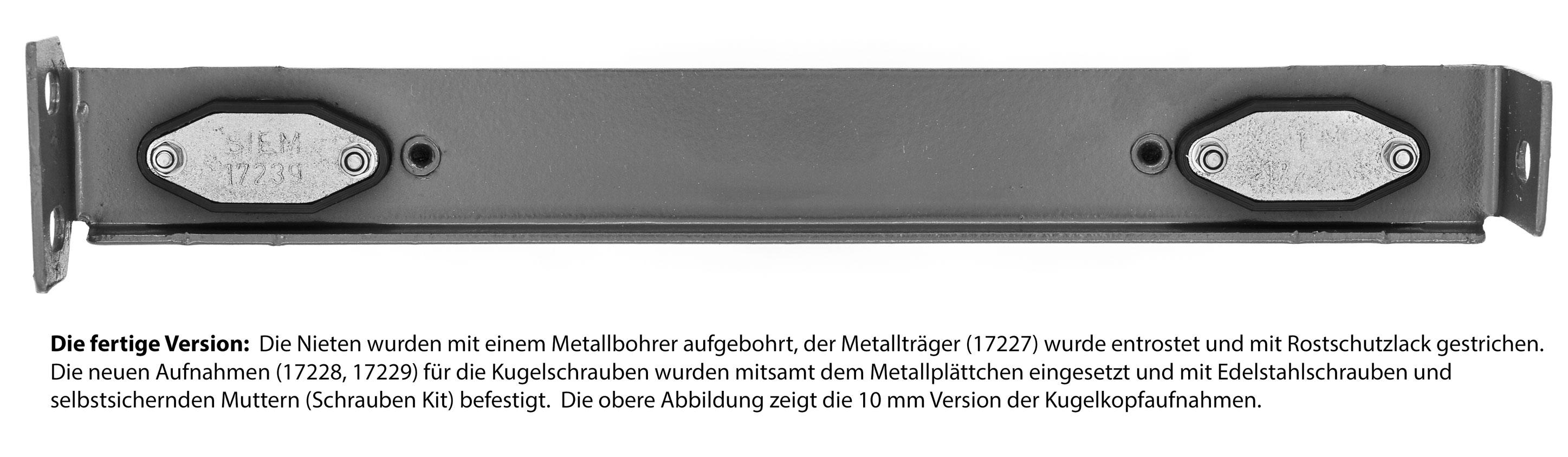SIEM 17203 Halterungen Scheinwerfer Ducato 290 C25SIEM 17228+SIEM 17229 J5